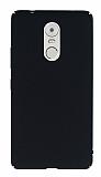 Lenovo K6 Note Tam Kenar Koruma Siyah Rubber Kılıf