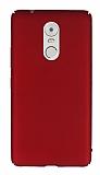 Lenovo K6 Note Tam Kenar Koruma Kırmızı Rubber Kılıf