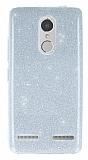 Lenovo K6 Simli Silver Silikon Kılıf
