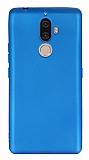 Lenovo K8 Note Mat Mavi Silikon Kılıf