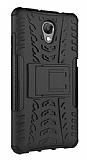 Lenovo P2 Ultra Süper Koruma Standlı Siyah Kılıf