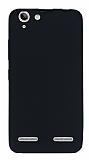 Lenovo Vibe K5 Mat Siyah Silikon Kılıf