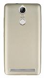 Lenovo Vibe K5 Note Mat Gold Silikon Kılıf