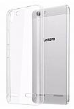 Lenovo Vibe K5 Şeffaf Kristal Kılıf