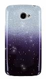 LG K5 Simli Siyah Silikon Kılıf
