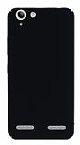 Lenovo Vibe K5 Tam Kenar Koruma Siyah Rubber Kılıf
