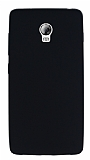 Lenovo Vibe P1 Mat Siyah Silikon Kılıf