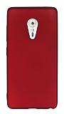 Lenovo ZUK Z2 Pro Mat Kırmızı Silikon Kılıf