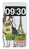 LG G Pro Lite Pencereli �nce Kapakl� Paris K�l�f