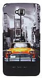 LG G Pro Lite Sar� Taksi Sert Mat Rubber K�l�f