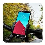 LG G2 Baseus Wind Series 360 Derece D�ner Standl� Bisiklet Telefon Tutucu