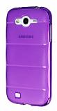 Samsung i9082 Galaxy Grand / i9060 Grand Neo Bubble �effaf Mor Silikon K�l�f