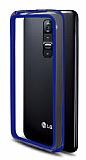 LG G2 Bumper �er�eve Mavi K�l�f