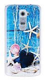 LG G2 Deniz Y�ld�z� Ultra �nce Silikon K�l�f