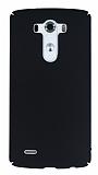 LG G3 Tam Kenar Koruma Siyah Rubber Kılıf