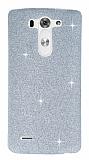 LG G3 S / G3 Beat Simli Silver Silikon K�l�f