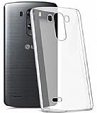 LG G3 İnce Kristal Şeffaf Kılıf