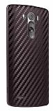 LG G3 Karbon Kahverengi Rubber Kılıf