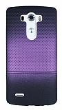 LG G3 Mor Noktal� Ultra �nce Silikon K�l�f