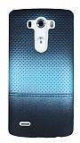 LG G3 Mavi Noktal� Ultra �nce Silikon K�l�f