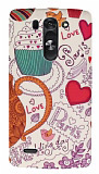 LG G3 S / G3 Beat Paris Love Rubber Kılıf