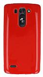 LG G3 S / G3 Beat Kırmızı Silikon Kılıf