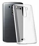 LG G3 Tam Kenar Koruma Şeffaf Rubber Kılıf