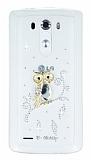 LG G3 Ta�l� Bayku� �effaf Silikon K�l�f