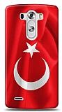 LG G3 Türk Bayrağı Kılıf