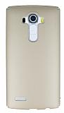 LG G4 Tam Kenar Koruma Gold Rubber Kılıf