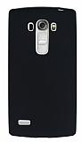 LG G4 Beat Mat Siyah Silikon Kılıf