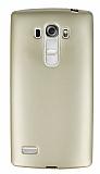 LG G4 Beat Mat Gold Silikon Kılıf