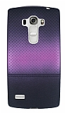 LG G4 Beat Mor Noktalı Ultra İnce Silikon Kılıf