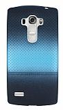 LG G4 Beat Mavi Noktalı Ultra İnce Silikon Kılıf