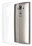 LG G4 Beat Şeffaf Kristal Kılıf