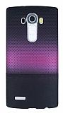 LG G4 Mor Noktal� Ultra �nce Silikon K�l�f