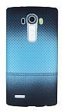 LG G4 Mavi Noktal� Ultra �nce Silikon K�l�f