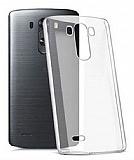 LG G4 Şeffaf İnce Kristal Kılıf
