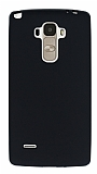 LG G4 Stylus Mat Siyah Silikon Kılıf