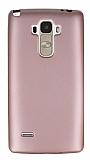 LG G4 Stylus Mat Rose Gold Silikon Kılıf