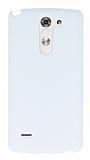 LG G3 Stylus Beyaz Rubber K�l�f