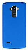 LG G4 Stylus Mavi Silikon Kılıf