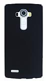 LG G4 Tam Kenar Koruma Siyah Rubber Kılıf