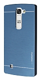 Motomo LG G4c Metal Lacivert Rubber Kılıf