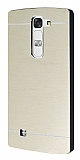 Motomo LG G4c Metal Gold Rubber Kılıf