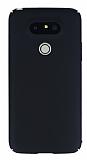 LG G5 Tam Kenar Koruma Siyah Rubber Kılıf