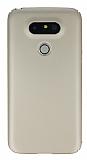 LG G5 Tam Kenar Koruma Gold Rubber Kılıf