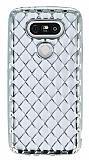 LG G5 Diamond Silver Kenarlı Şeffaf Silikon Kılıf