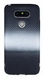 LG G5 Silver Noktalı Ultra İnce Silikon Kılıf