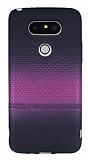 LG G5 Pembe Noktalı Ultra İnce Silikon Kılıf